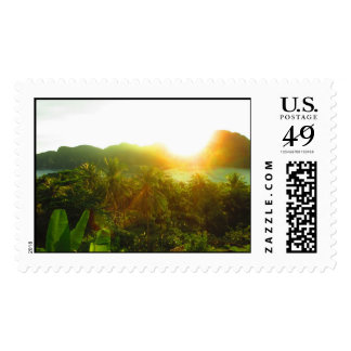 Natural Splendor and Tranquility Postage Stamp