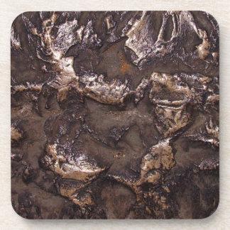 Natural stone texture coaster