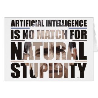 Natural Stupidity Card