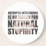 Natural Stupidity Coaster