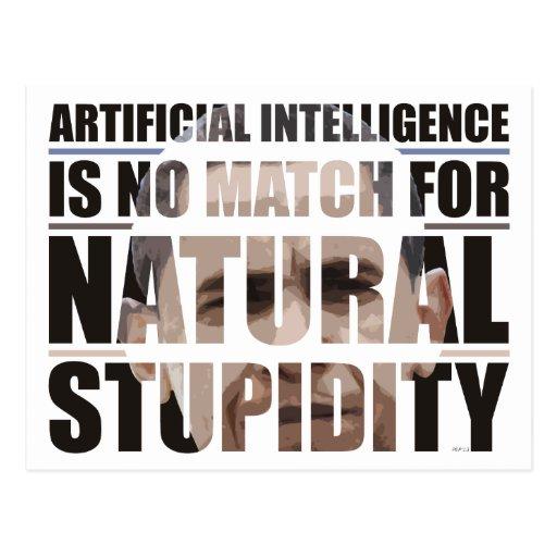 Natural Stupidity Postcards