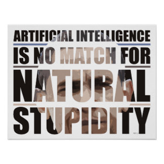 Natural Stupidity Poster
