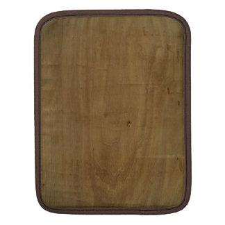 Natural swirl light wood wooden iPad sleeve