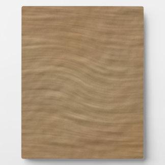 Natural Tan Sandstone Look Background Photo Plaque