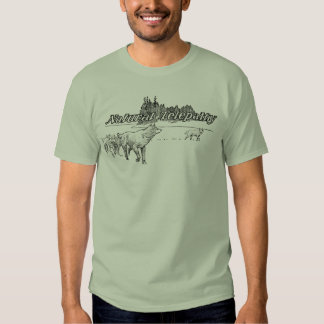 Natural Telepathy Wolf Pack Guy's T-shirt