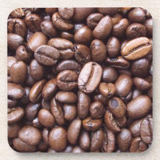 Natural Textures - Coffee bean Beverage Coaster