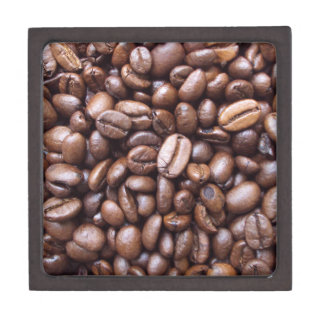 Natural Textures - Coffee bean Premium Jewelry Boxes