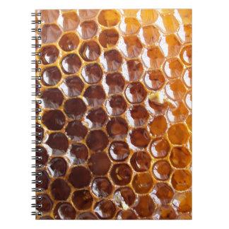 Natural Textures - Honeycomb Spiral Note Book
