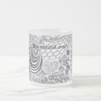 Natural The one! 10 Oz Frosted Glass Coffee Mug