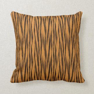Natural Tiger Texture Print Pillow