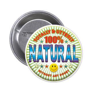 Natural Totally Button