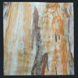 "Natural tree bark colorful orange and gray picture cloth napkin<br><div class=""desc"">Natural tree bark colorful orange and gray picture towel