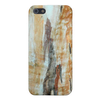 Natural tree bark colorful orange and gray picture iPhone SE/5/5s cover