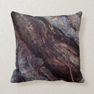 Natural Tree Trunk Organic Pillow by Sharles