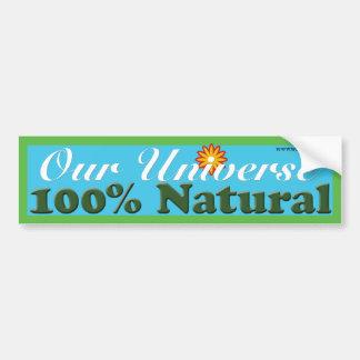 Natural Universe Bumper Sticker