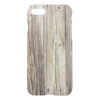 Natural Weathered Wood Boards from Old Dock iPhone 8/7 Case
