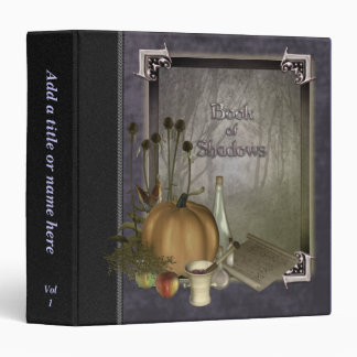 "Natural Witch Book of Shadows 1.5"" Avery Binder"
