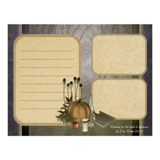 Natural Witch Keepsake Paper Letterhead