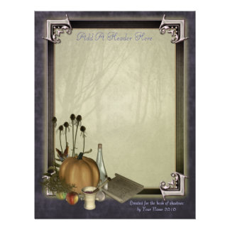 Natural Witch Writing Paper