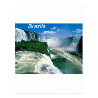 Natural  Wonder  of Iguassu  Angie Postcard