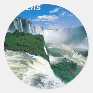 Natural-Wonder-of-Iguazu--Angie.jpg Classic Round Sticker