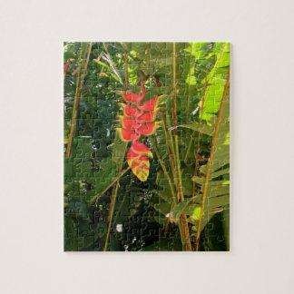 Natural wonders Hawaiian style lobster claw Jigsaw Puzzle