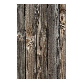 Natural Wood Background Stationery