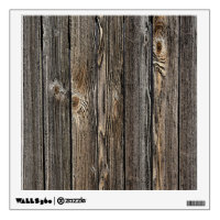 Natural wood background texture. wall sticker