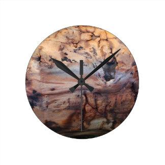 Natural Wood Design Wall Clock