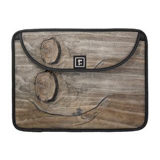 Natural Wood Grain MacBook Pro Sleeves