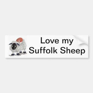 Natural Wool Cat Nap   Sumi-e Bumper Sticker