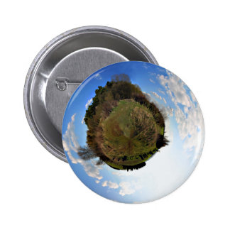 Natural World in Minature button pin
