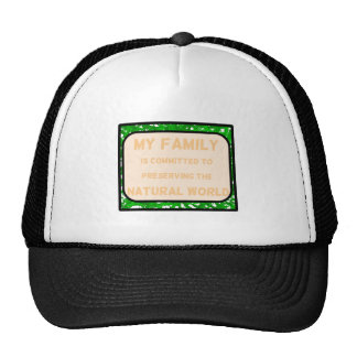 Natural World Trucker Hat