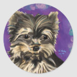 Natural Yorkie stickers