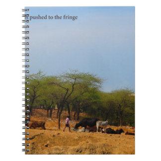Naturales de los animales del desarrollo del metro notebook