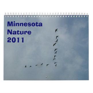 Naturaleza 2011 de Minnesota Calendario