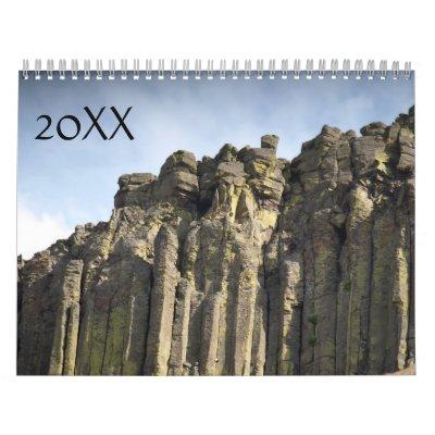 Naturaleza - 20XX Calendario De Pared