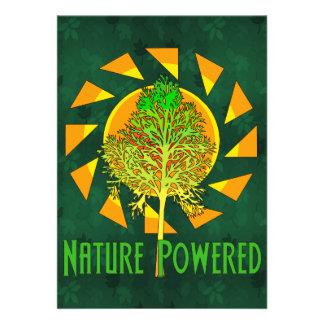 Naturaleza accionada invitacion personal