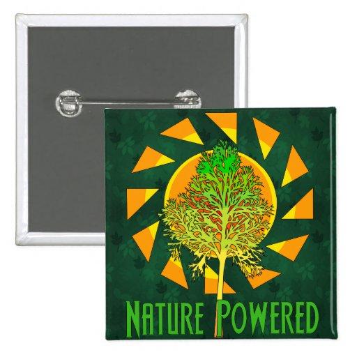 Naturaleza accionada pin