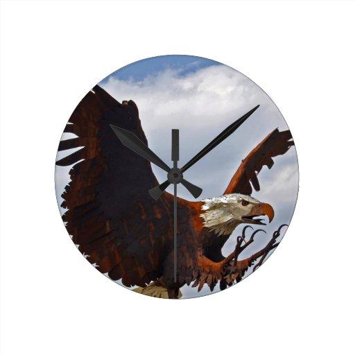 Naturaleza americana del destino de Eagle calvo Relojes