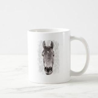 Naturaleza animal del caballo de Wellcoda hermosa Taza Clásica