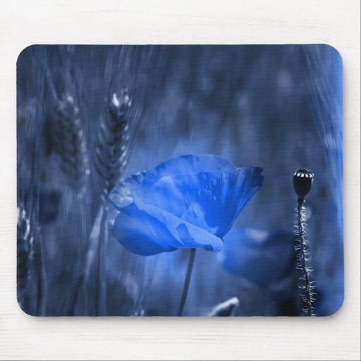 Naturaleza azul alfombrilla de ratón