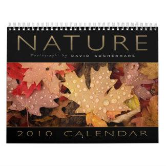 Naturaleza - calendario 2010