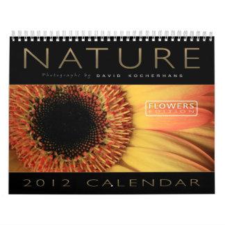Naturaleza - calendario 2012 (edición de las flore