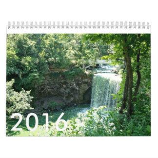 Naturaleza, calendario, fotografía, animales, calendario de pared