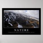 Naturaleza: Cita inspirada Póster