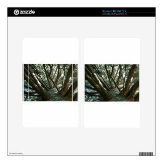 Naturaleza de Braches del árbol Skin Para Kindle Fire