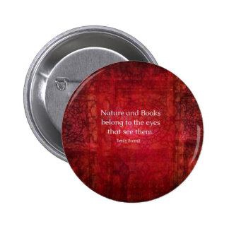Naturaleza de Emily Bronte y cita de los libros Pins