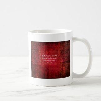 Naturaleza de Emily Bronte y cita de los libros Taza De Café