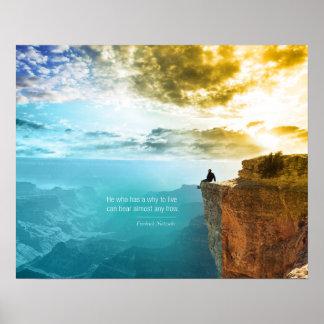 Naturaleza de la aventura de la naturaleza de Frie Poster